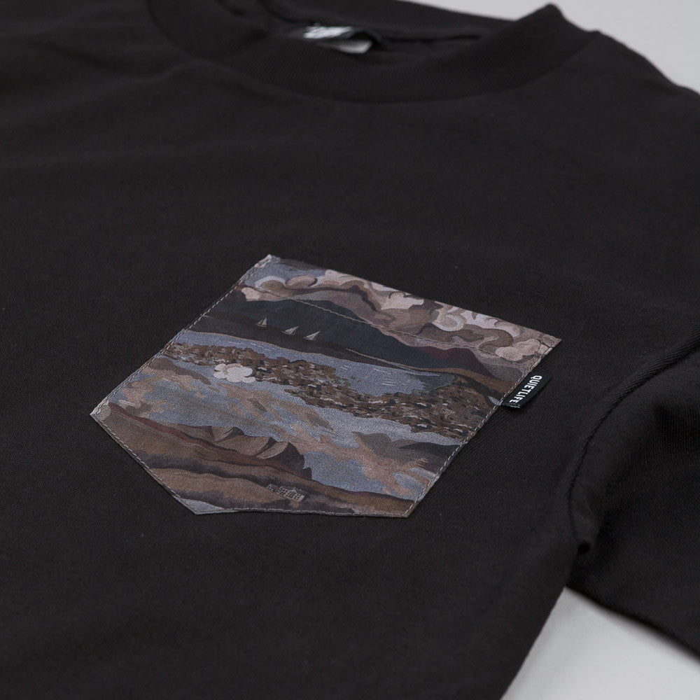 The Quiet Life Ocean Pocket T Shirt Black