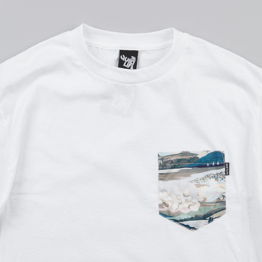 The Quiet Life Ocean Pocket T Shirt White