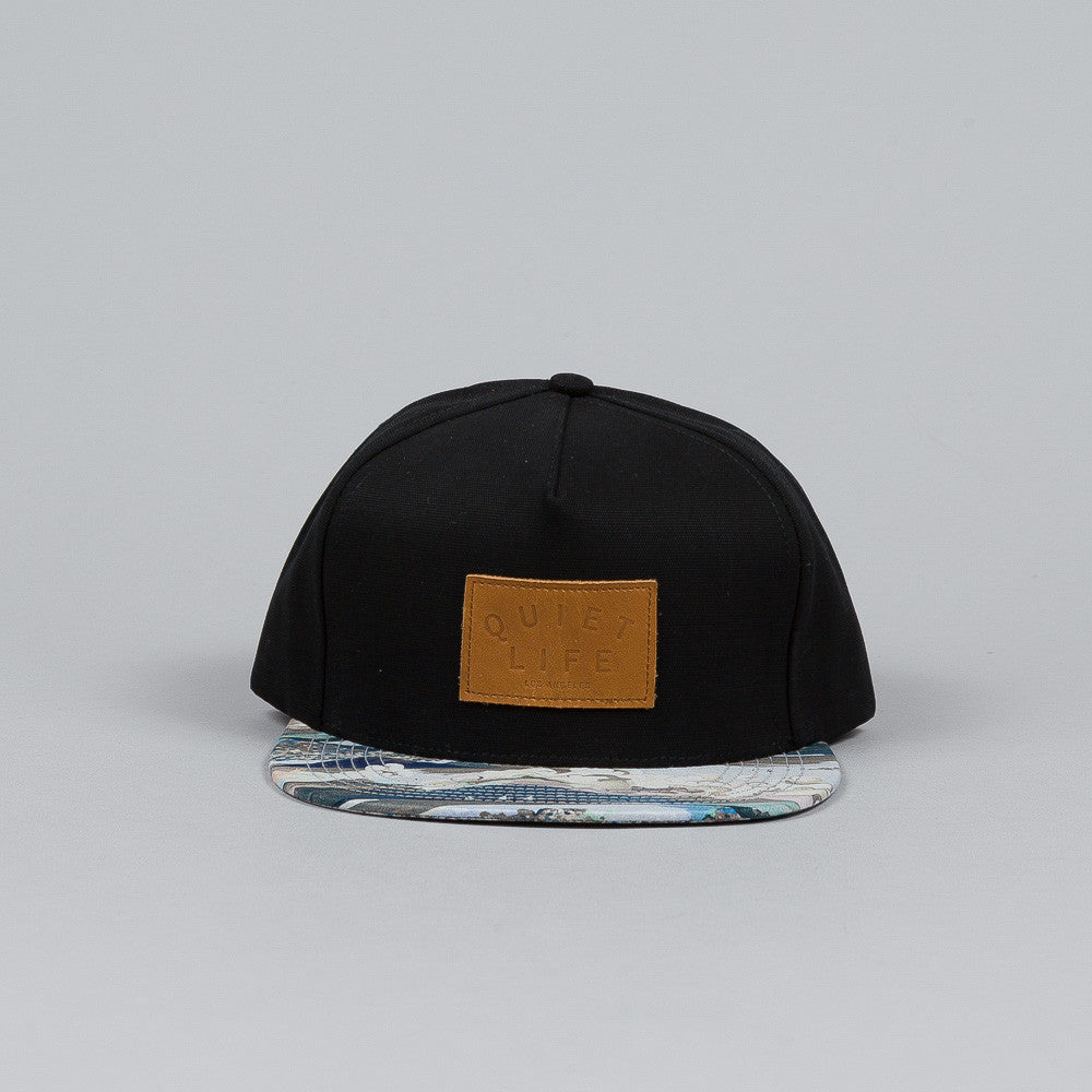 The Quiet Life Ocean Snapback Cap Ocean Bill