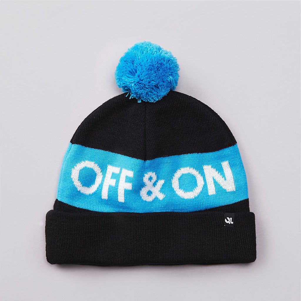 The Quiet Life On And Off Beanie Blue / Black