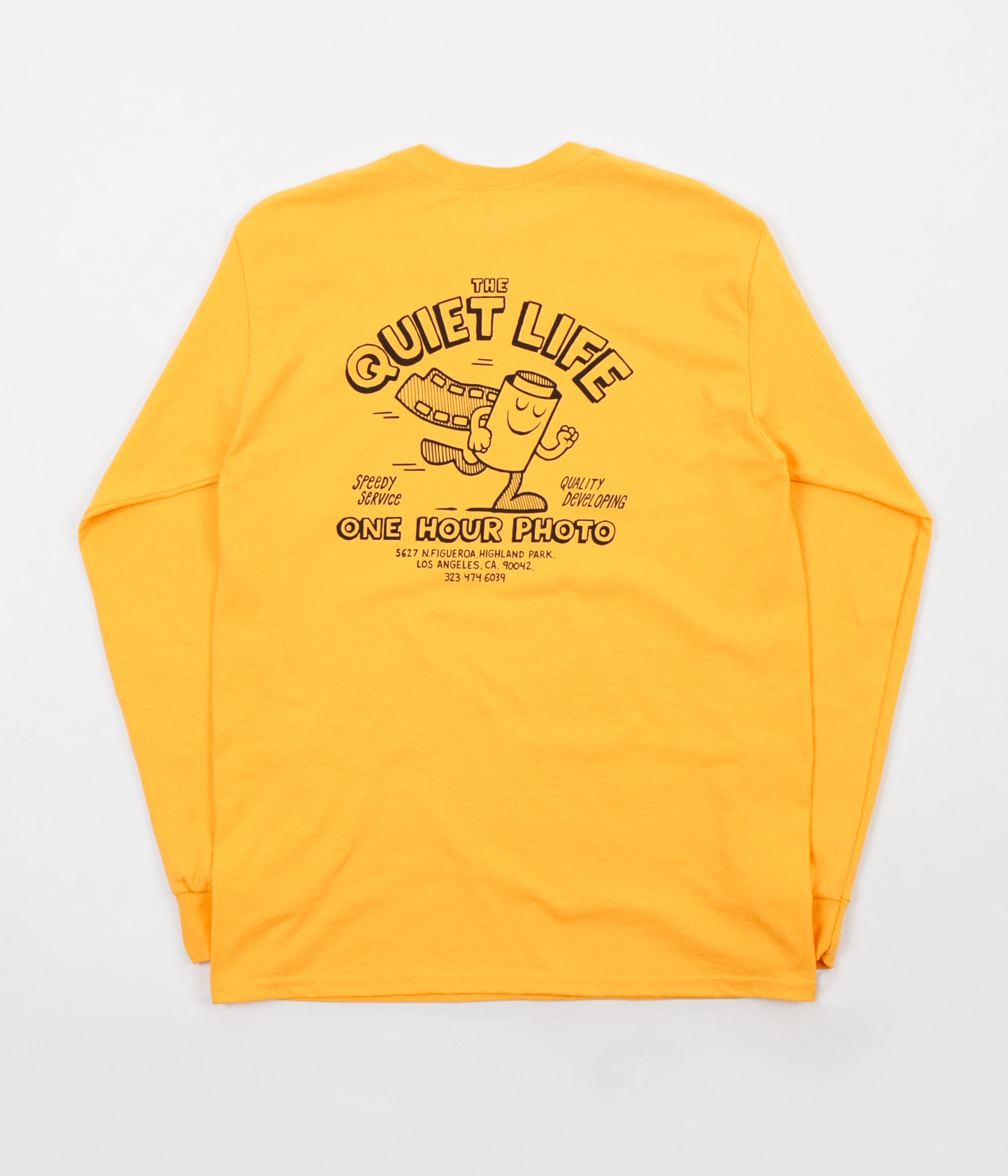 The Quiet Life One Hour Photo Long Sleeve T-Shirt - Gold