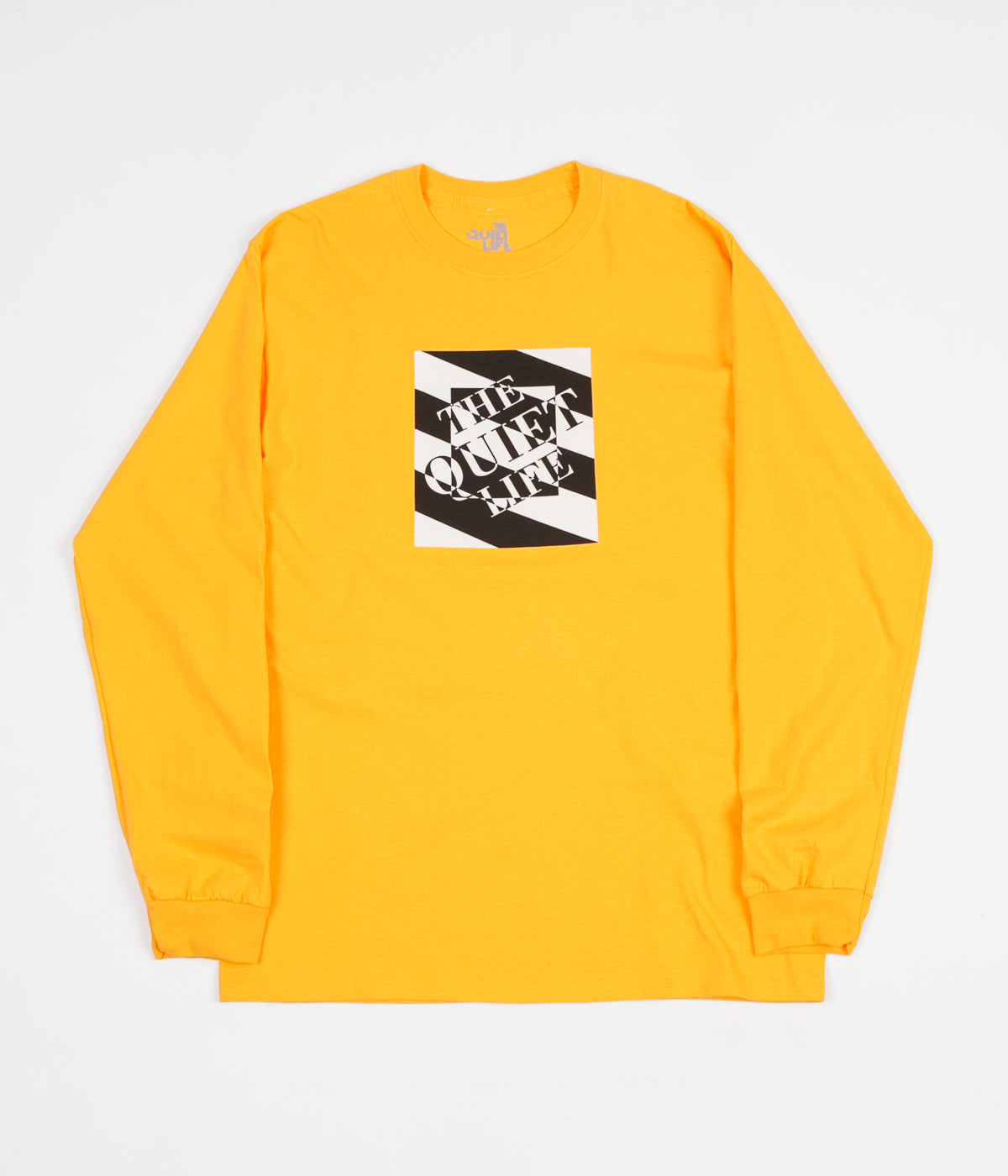 The Quiet Life Optical Long Sleeve T-Shirt - Gold
