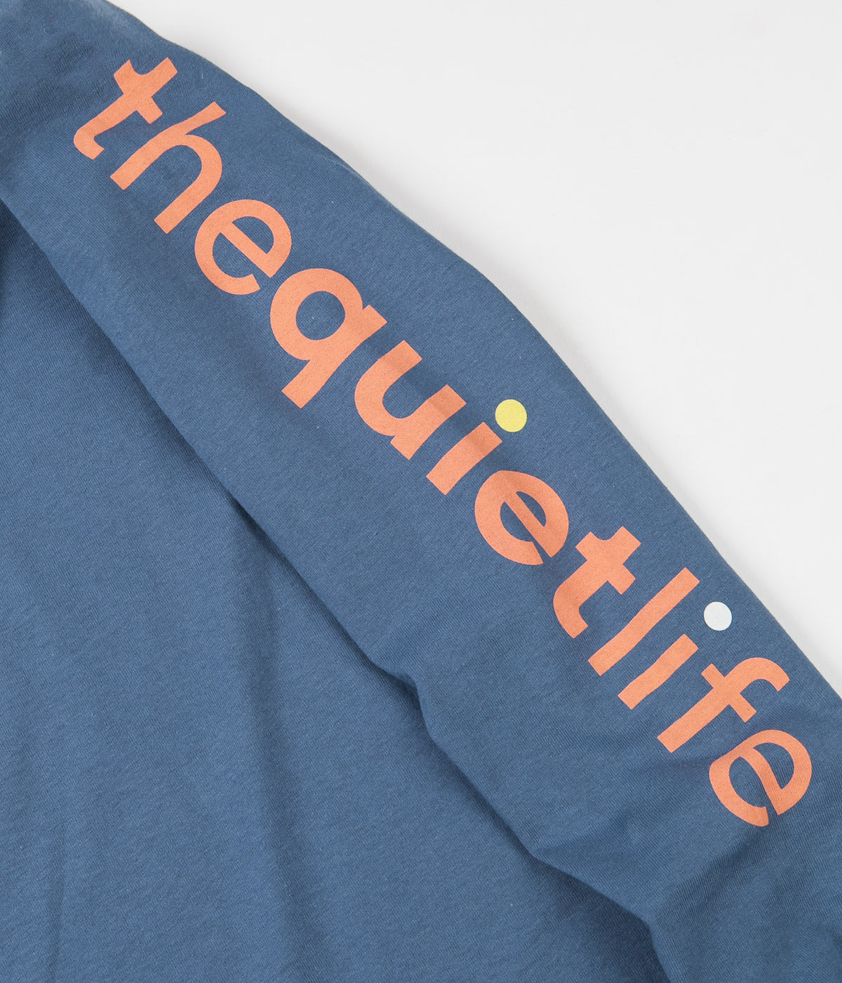 The Quiet Life Origin Repeat Long Sleeve T-Shirt - Slate
