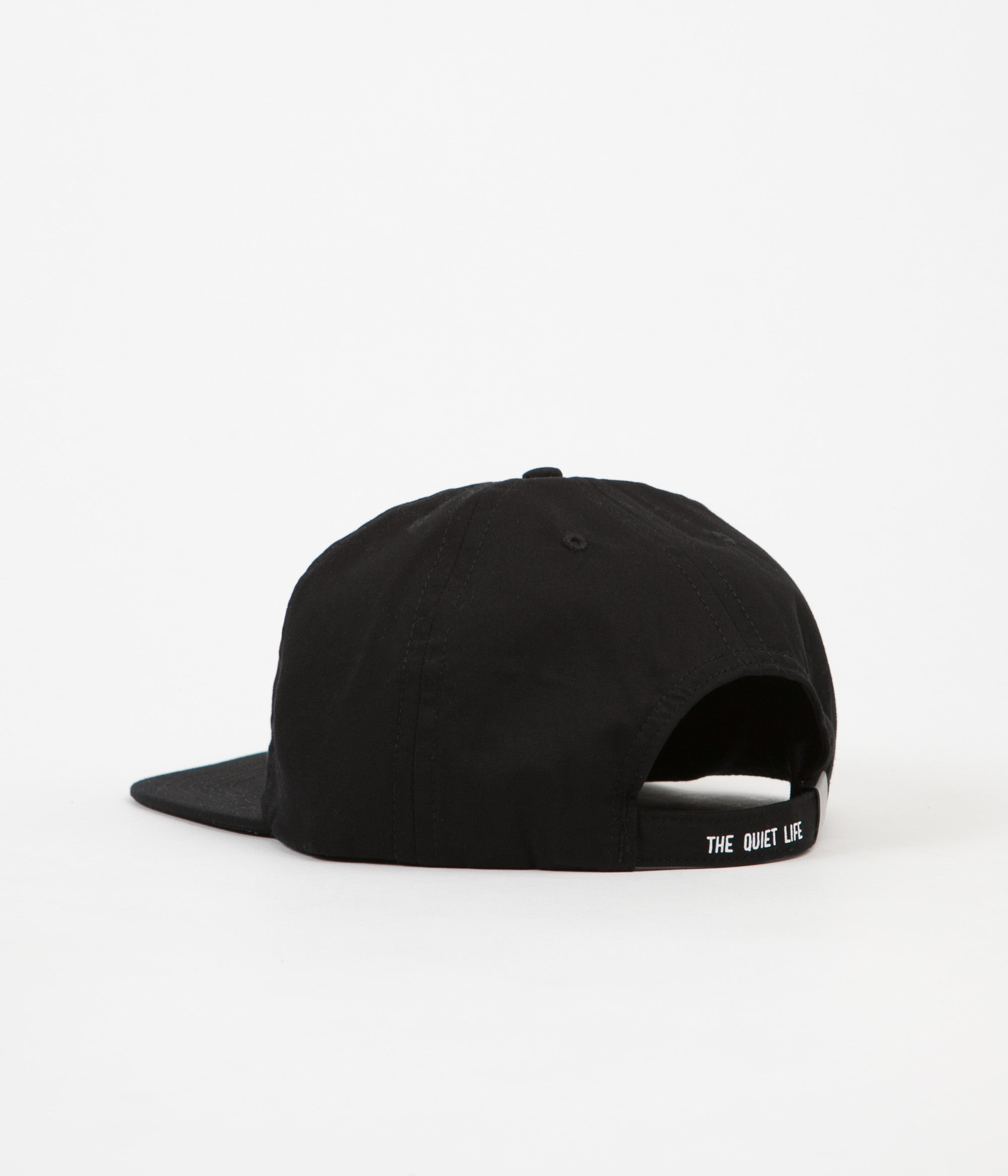 The Quiet Life Otherside Snapback Cap - Black