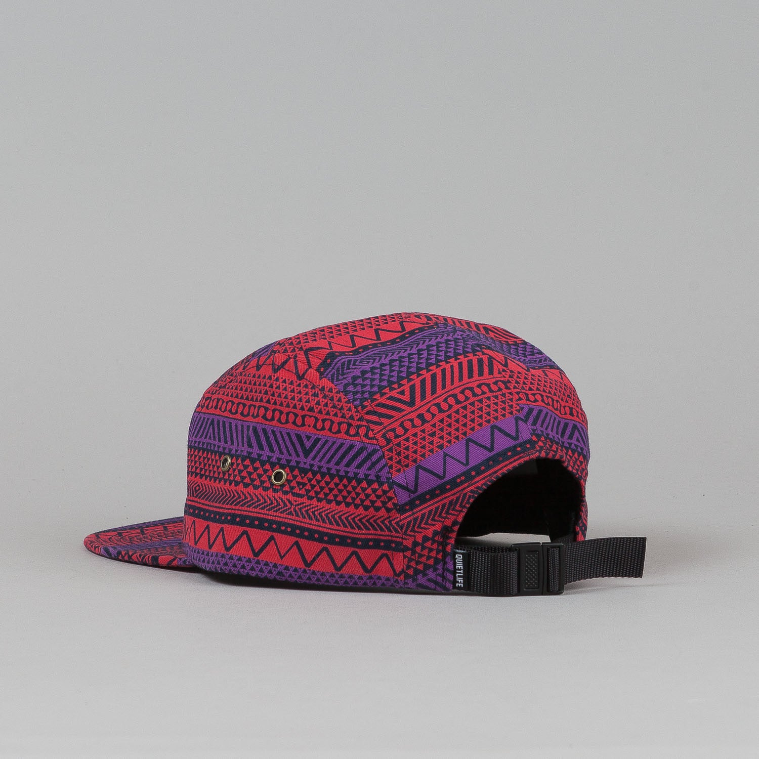 The Quiet Life Our Tribe 5 Panel Cap - Red