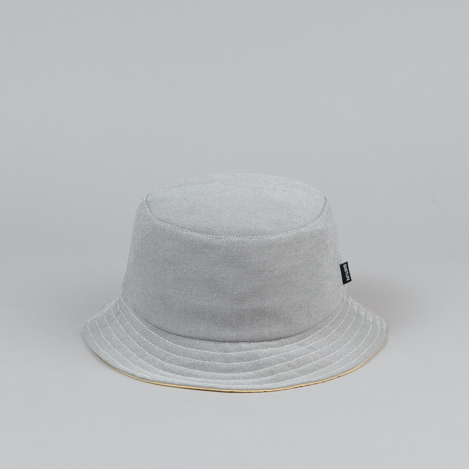 The Quiet Life Oxford Bucket Hat - Grey