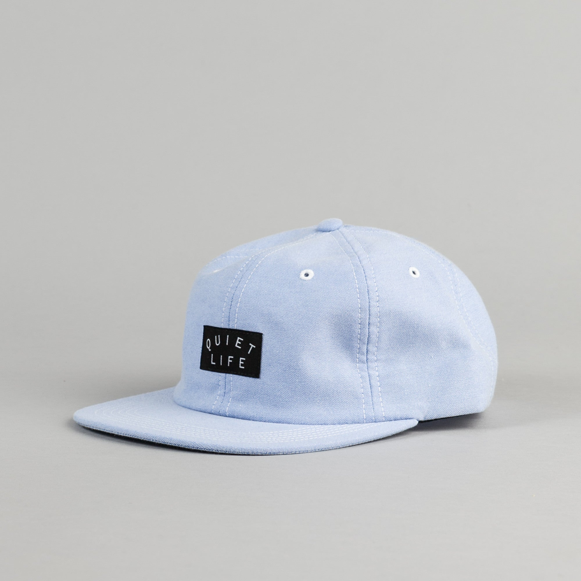 The Quiet Life Oxford Polo Cap - Blue
