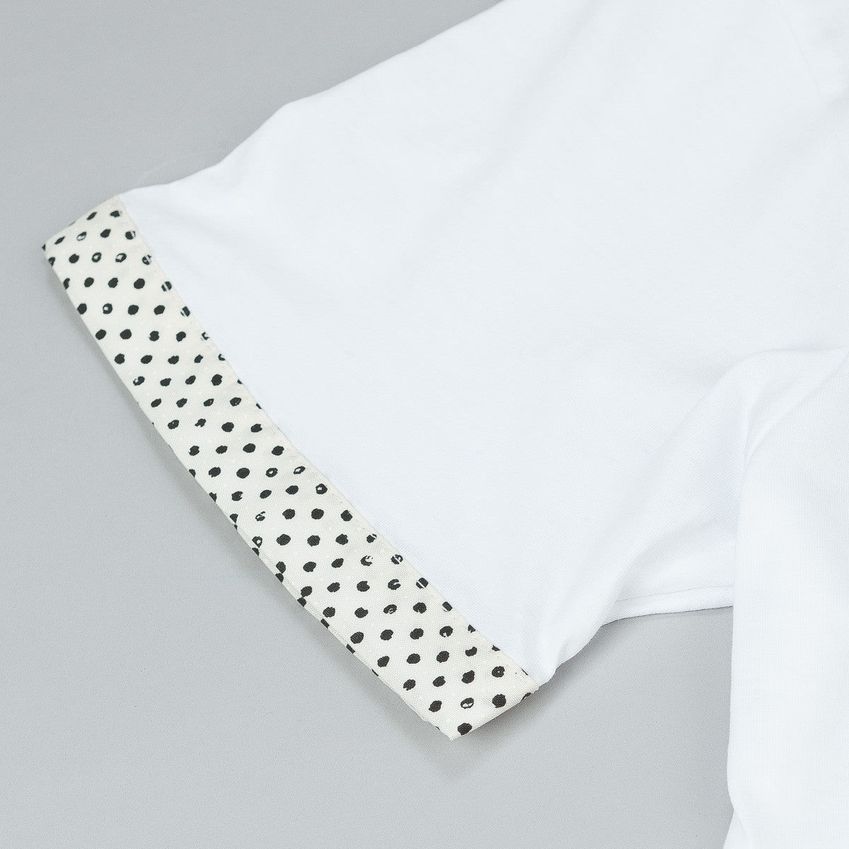 The Quiet Life Painted Dot Cuff T-Shirt - White