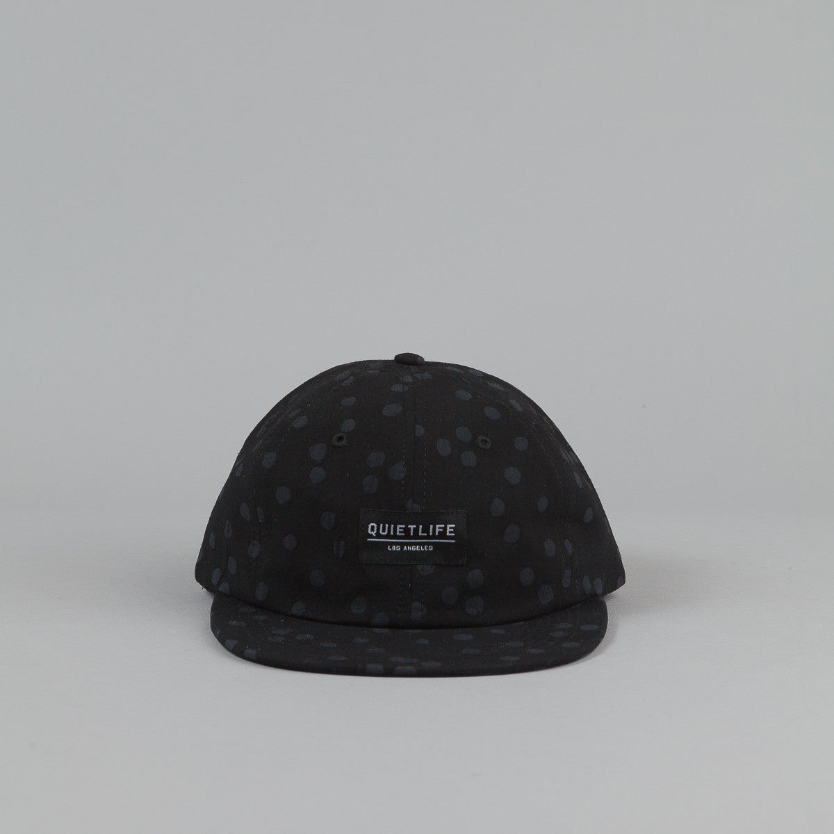 The Quiet Life Painted Dot Polo Cap - Black