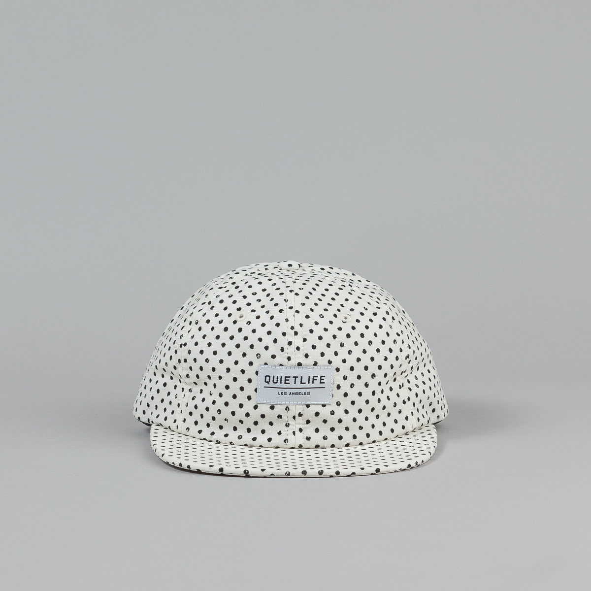The Quiet Life Painted Dot Polo Cap - Cream