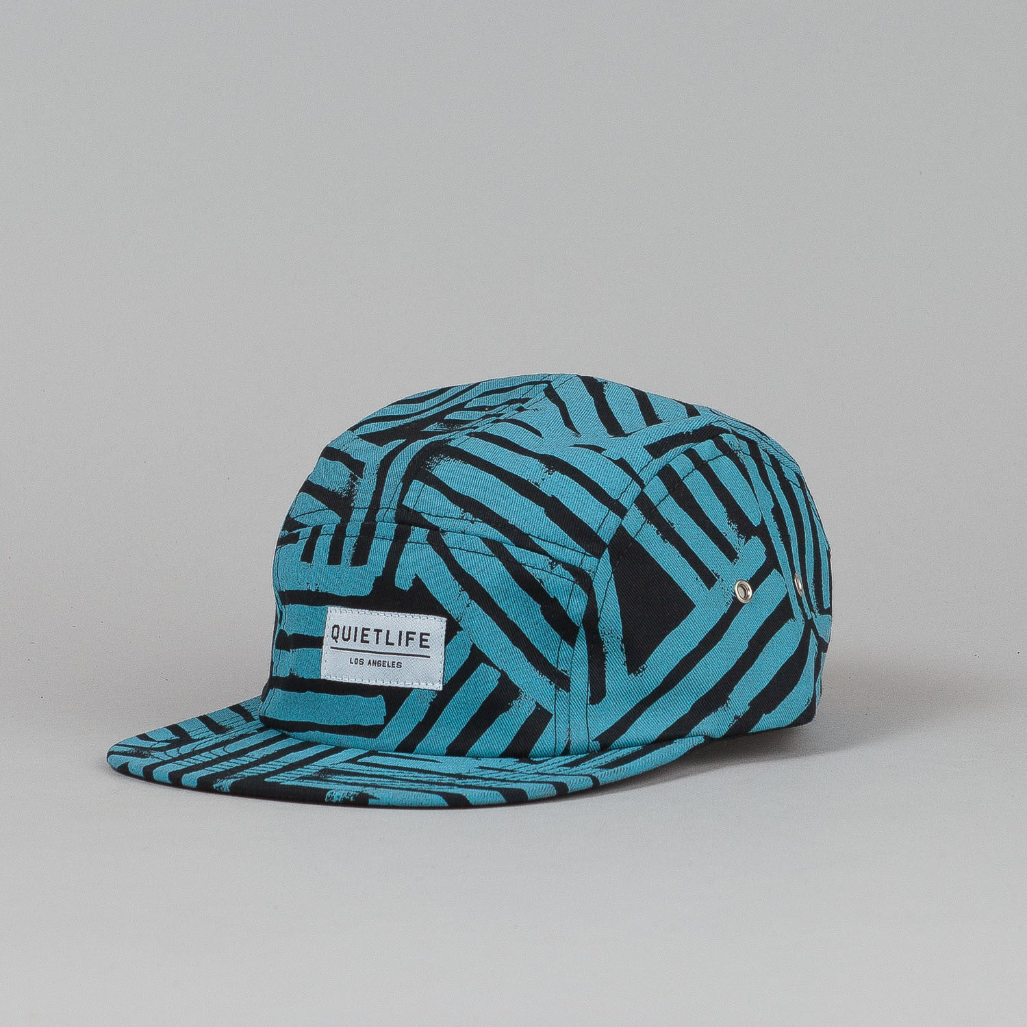 The Quiet Life Painted Lines 5 Panel Cap