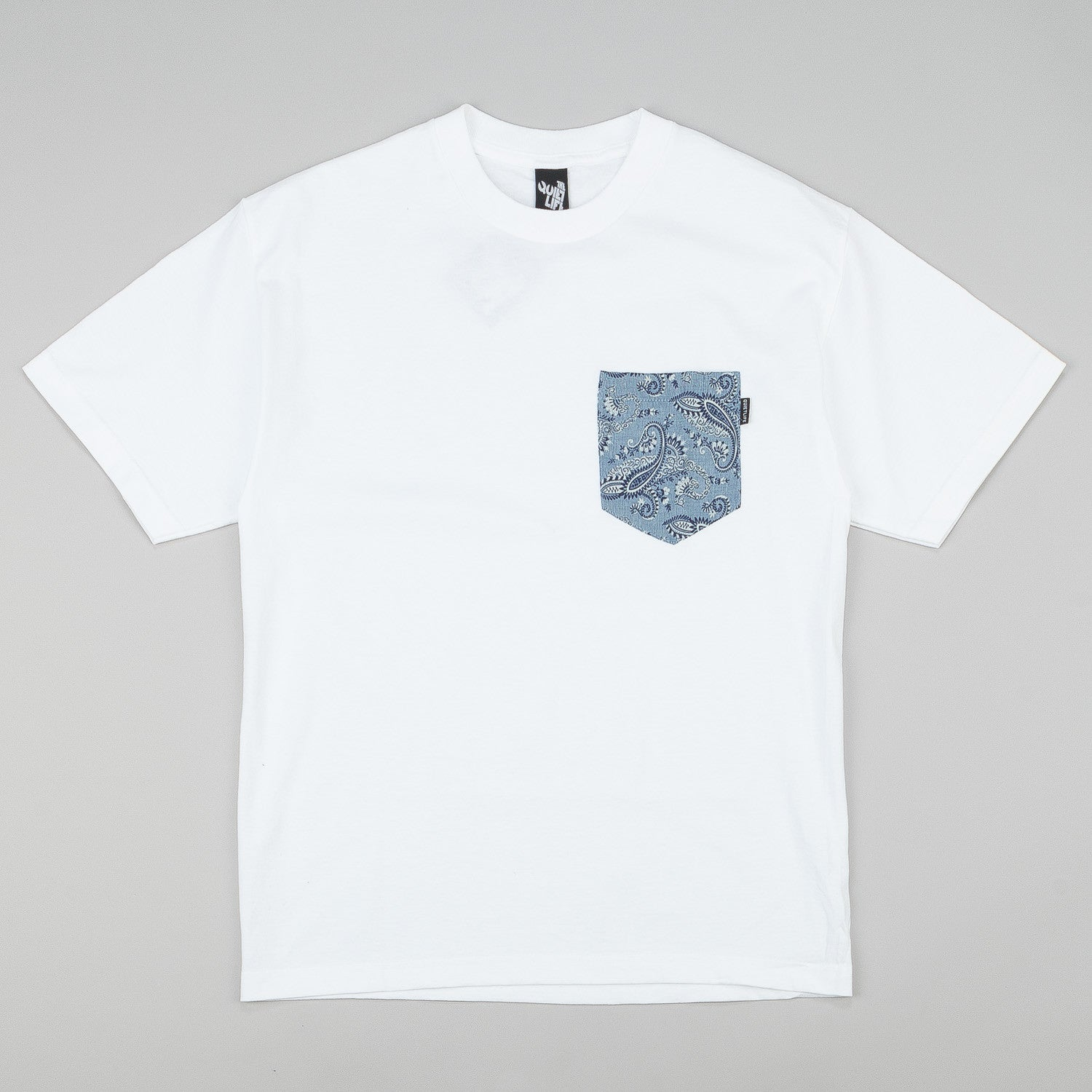 The Quiet Life Paisley Pocket T-Shirt