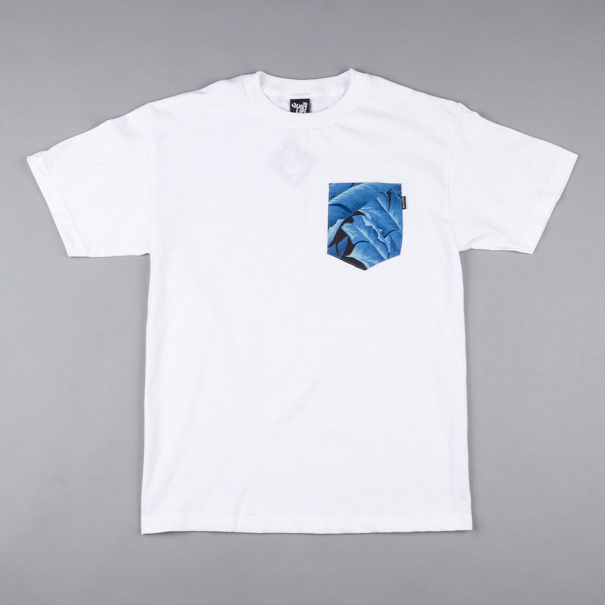 The Quiet Life Palm Pocket T-Shirt - White