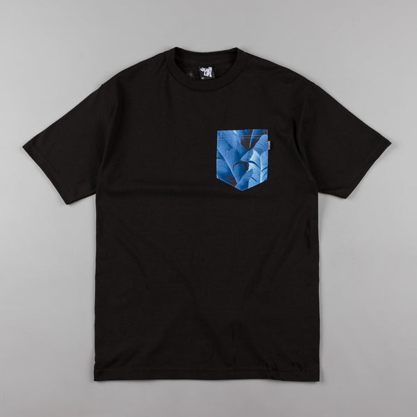 The Quiet Life Palm Premium Pocket T-Shirt - Black