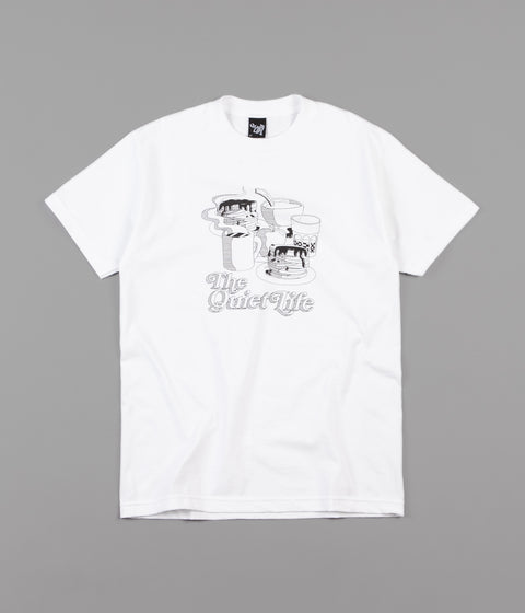 The Quiet Life Pancakes T-Shirt - White