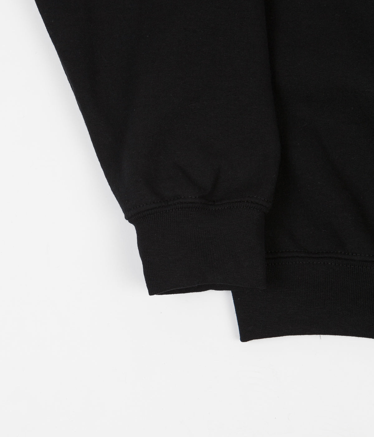 The Quiet Life Paris Crewneck Sweatshirt - Black