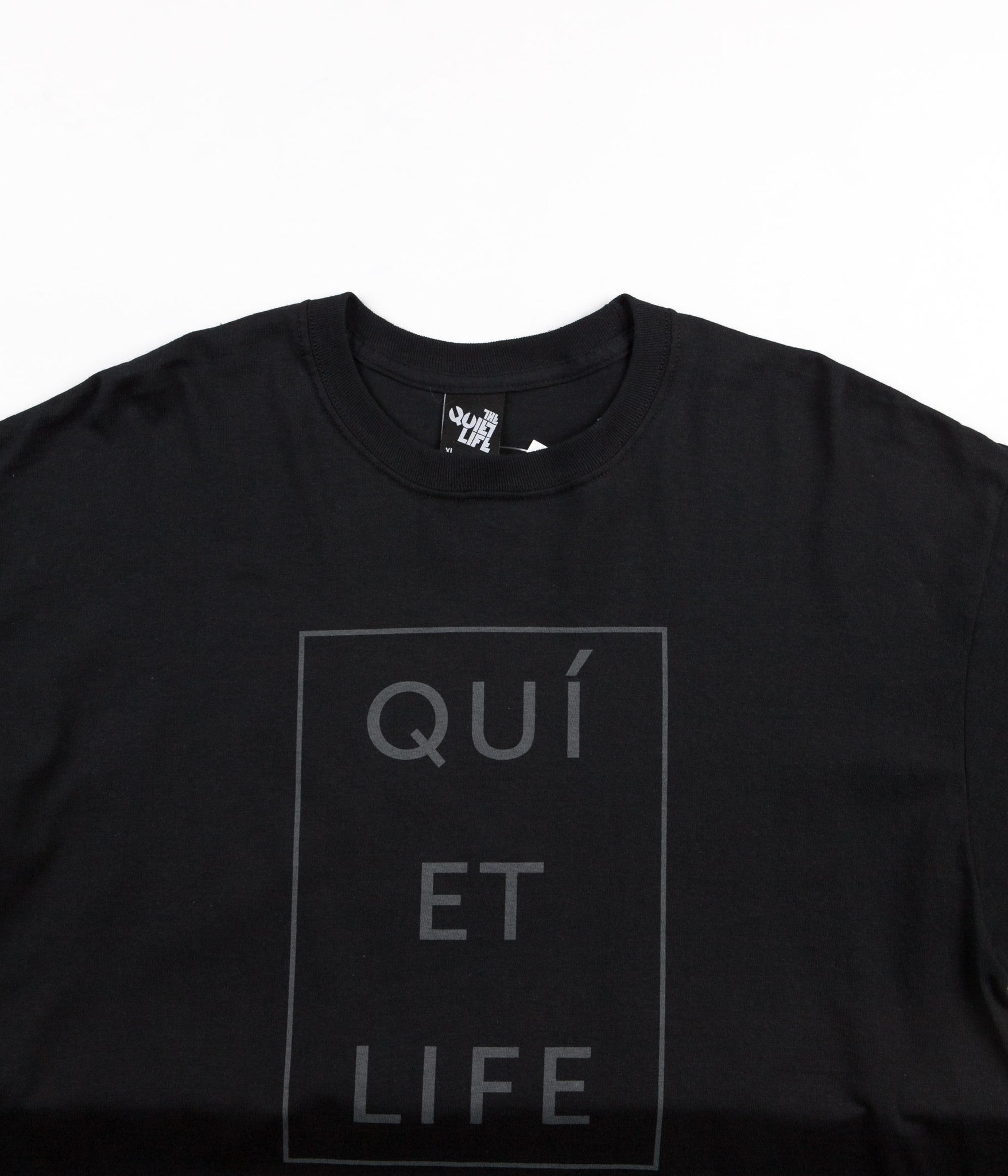 The Quiet Life Paris Long Sleeve T-Shirt - Black