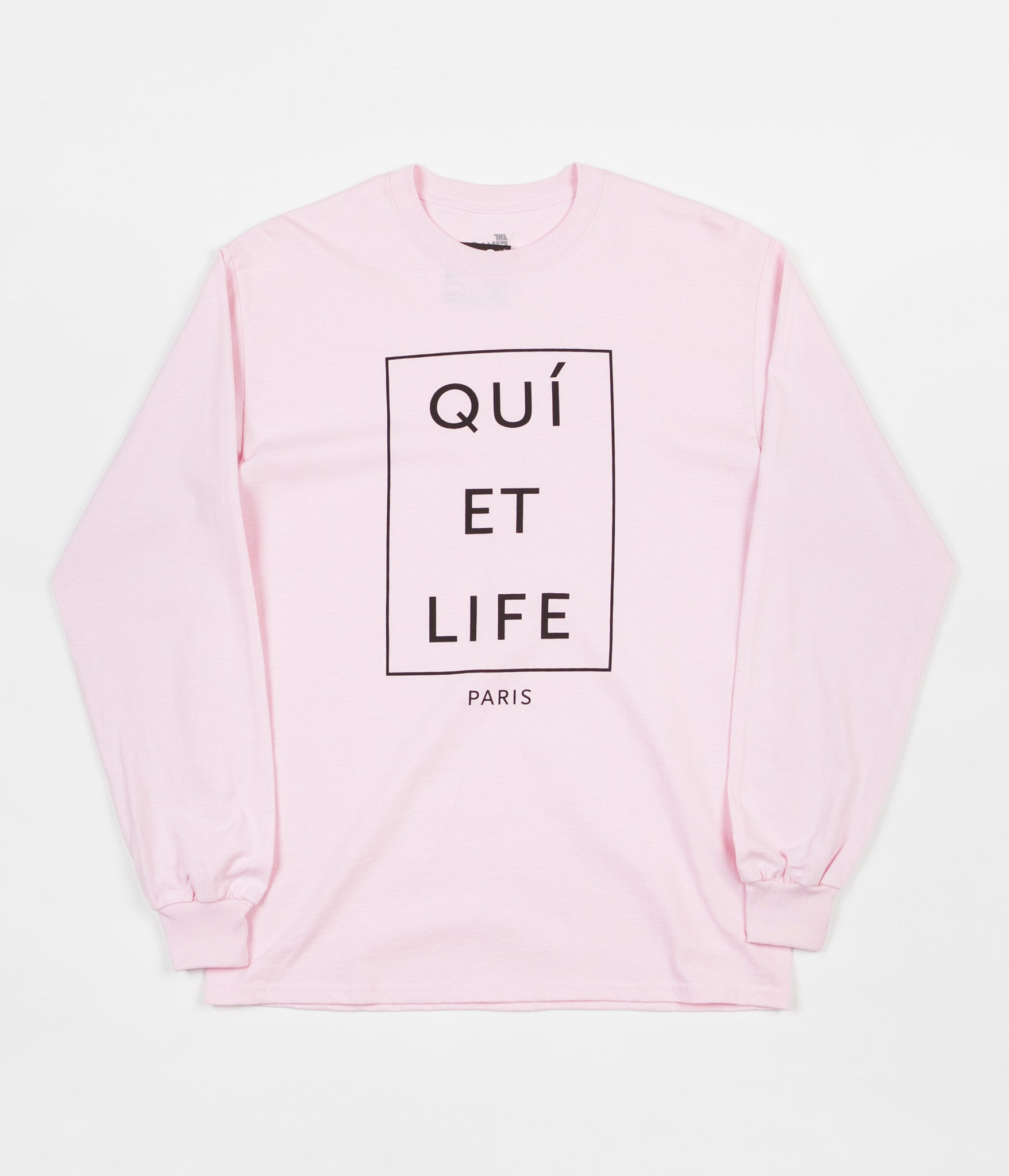The Quiet Life Paris Long Sleeve T-Shirt - Pink