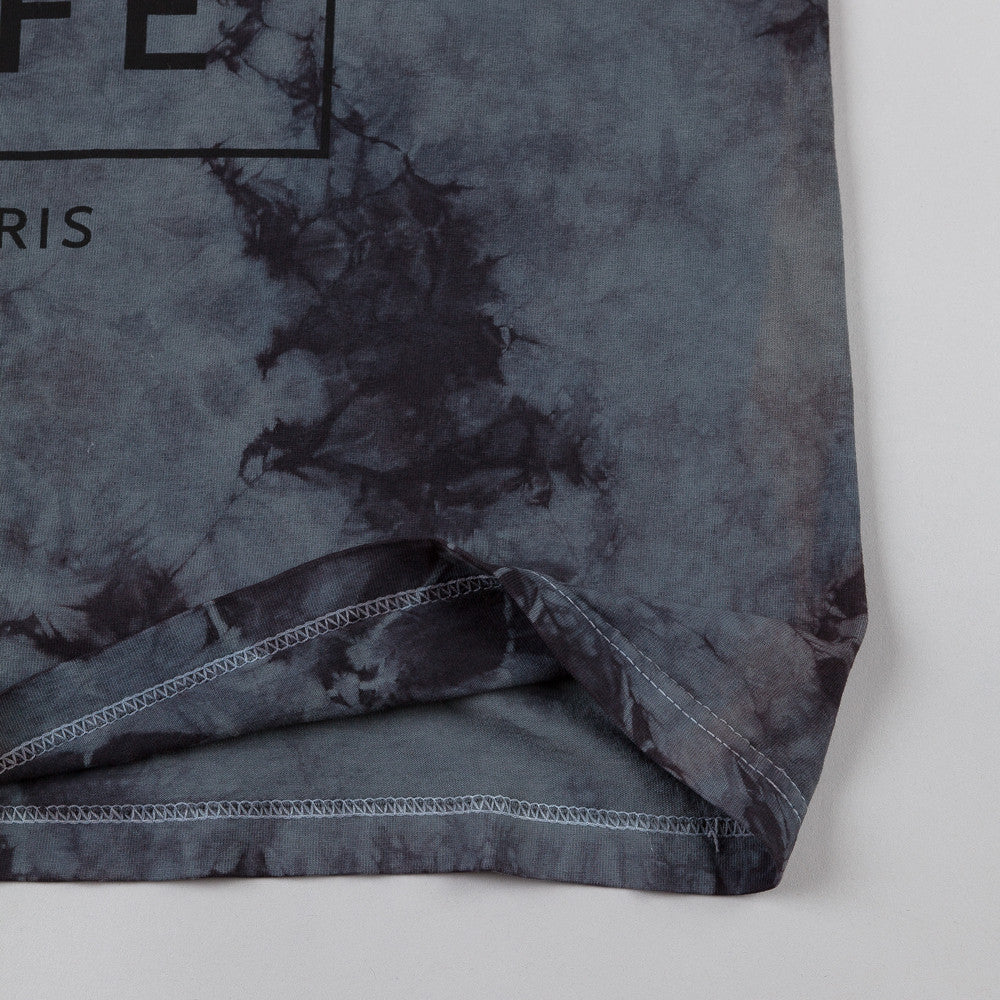 The Quiet Life Stormy Paris T-shirt Charcoal