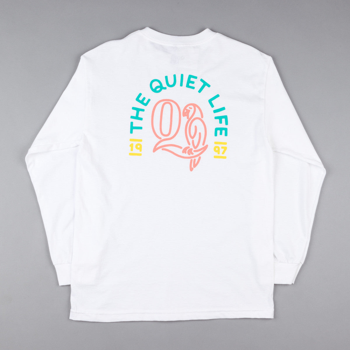 The Quiet Life Parrot Long Sleeve T-Shirt - White