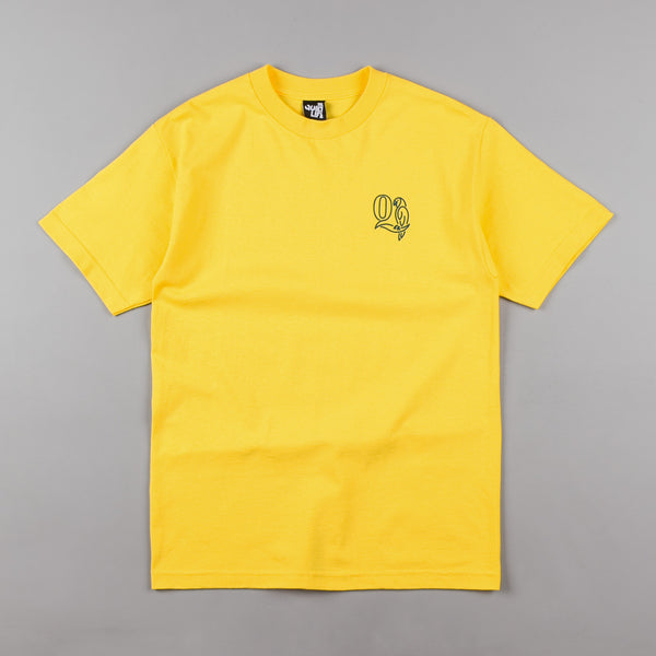 The Quiet Life Parrot T-Shirt - Yellow