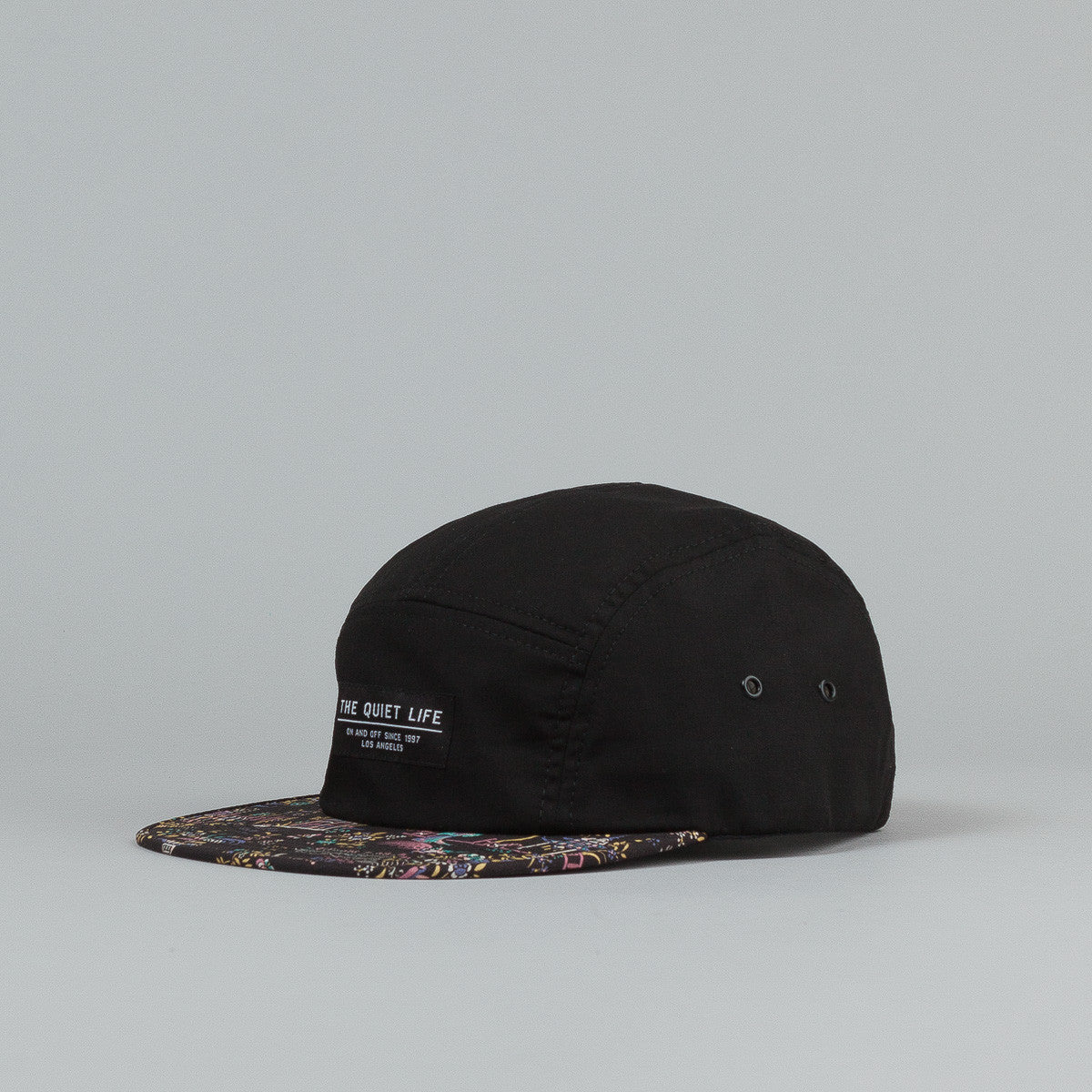 The Quiet Life Peony 5 Panel Cap