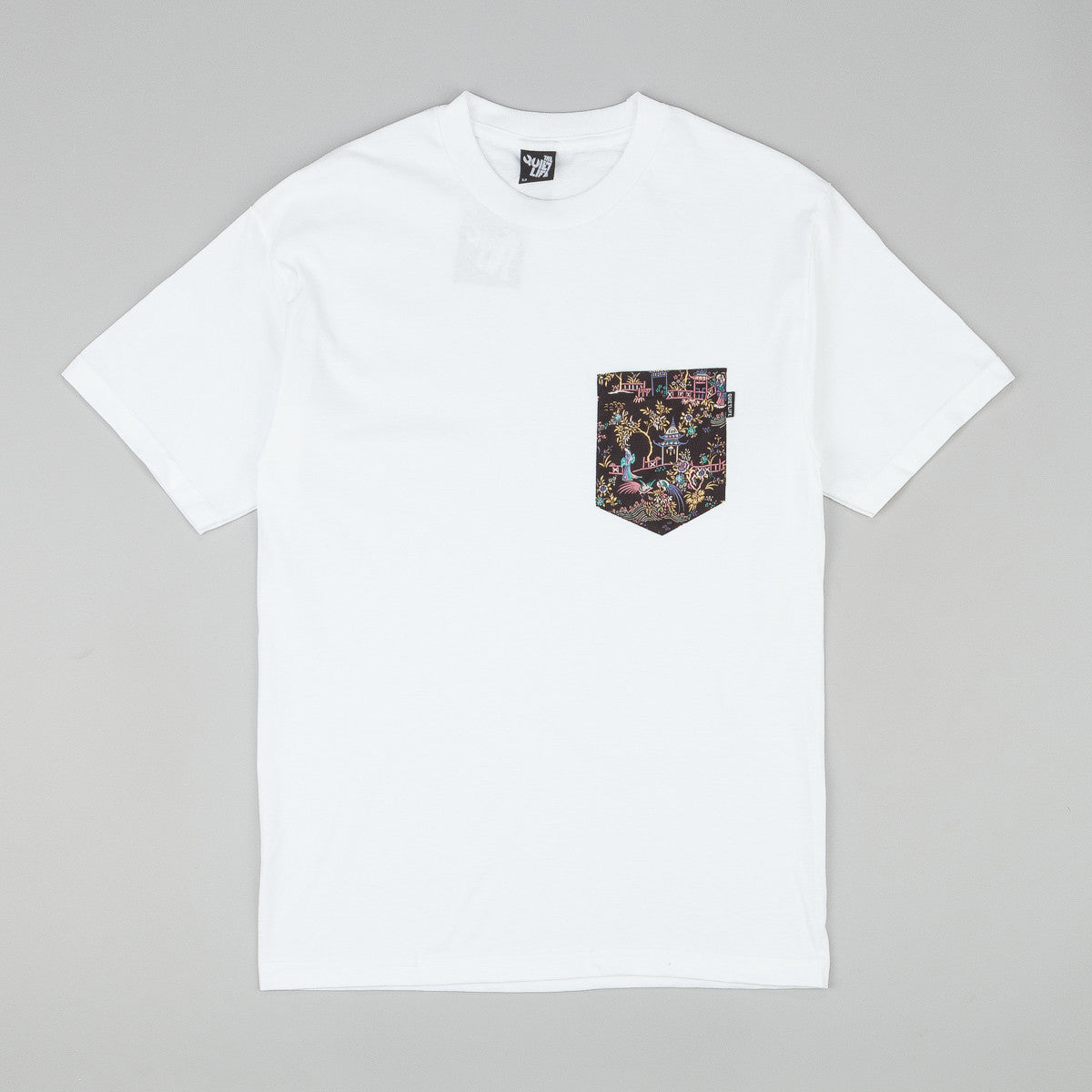 The Quiet Life Peony Pocket T-Shirt - White