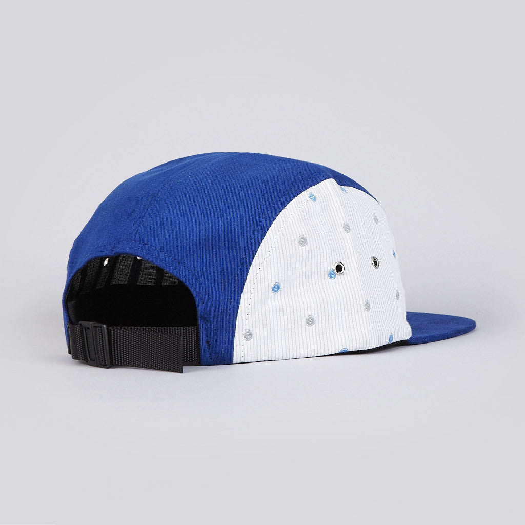 The Quiet Life Polka 5 Panel Cap Blue