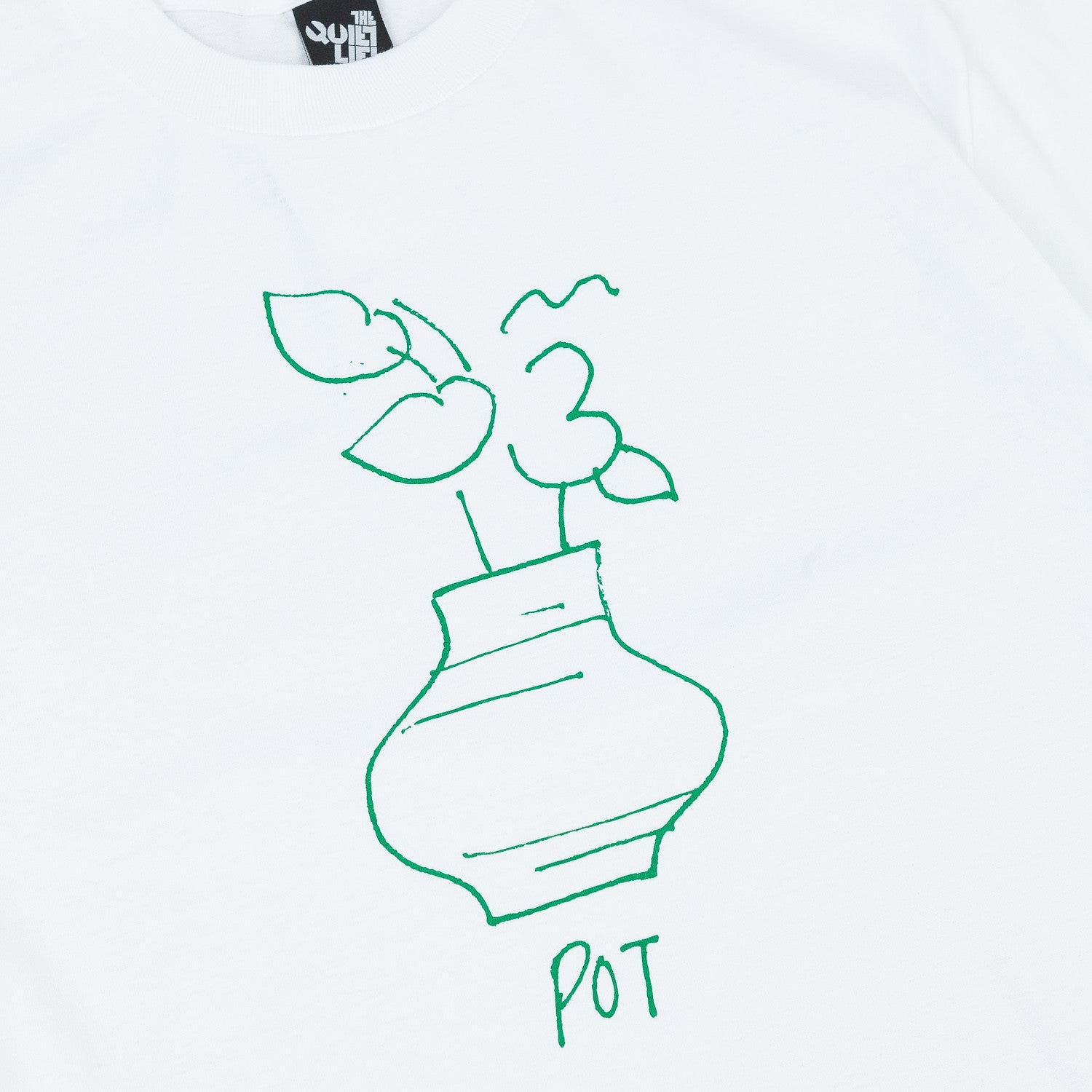The Quiet Life Pot T-Shirt - White