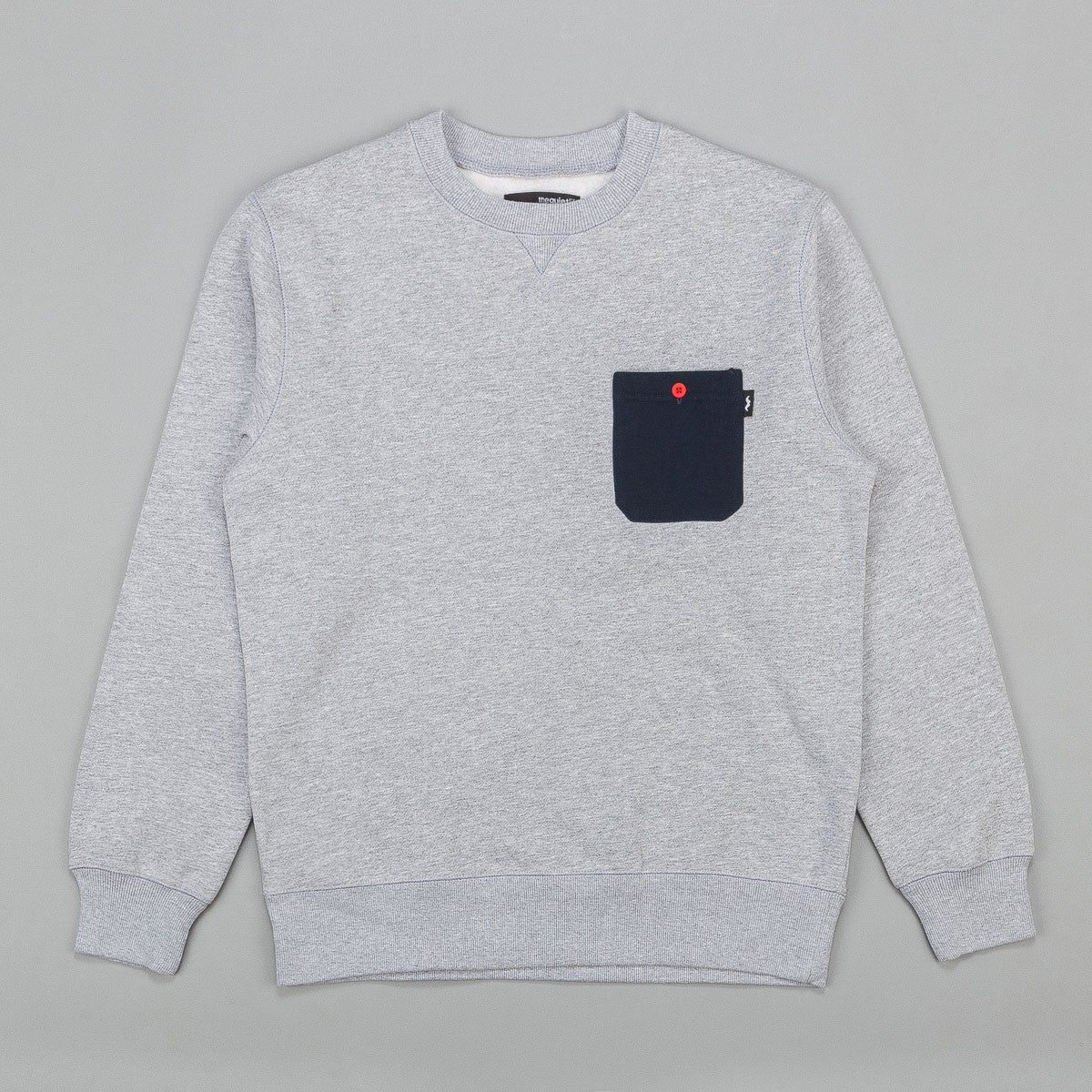 The Quiet Life Professor Pocket Crew Neck Sweatshirt