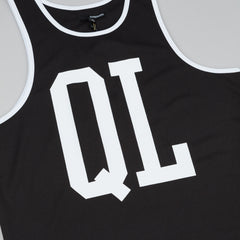 The Quiet Life QL Basketball Tank  - Black