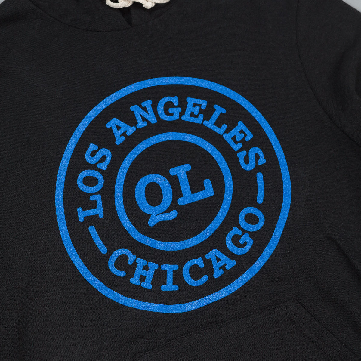 The Quiet Life QL Cities Hooded Sweatshirt - Black