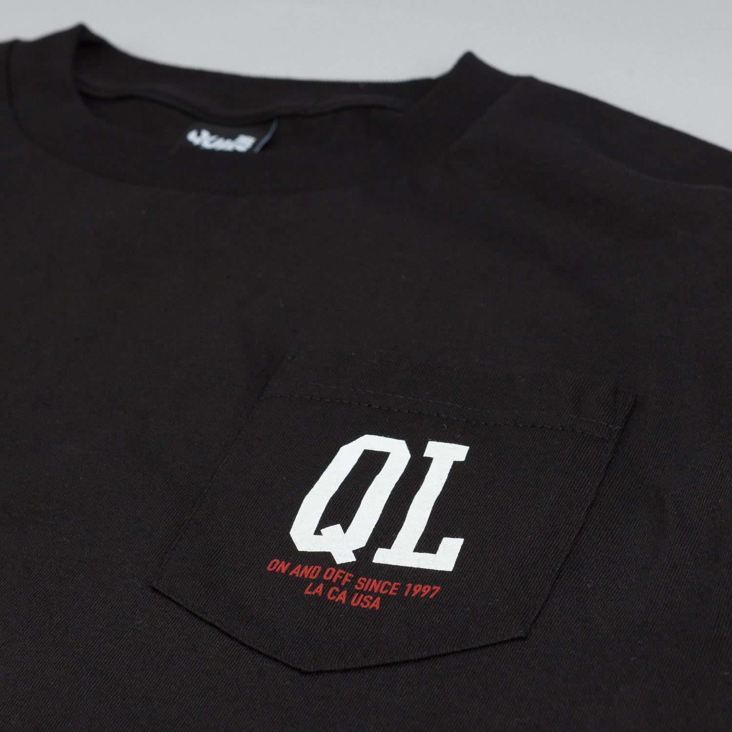 The Quiet Life QL Pocket T Shirt Black