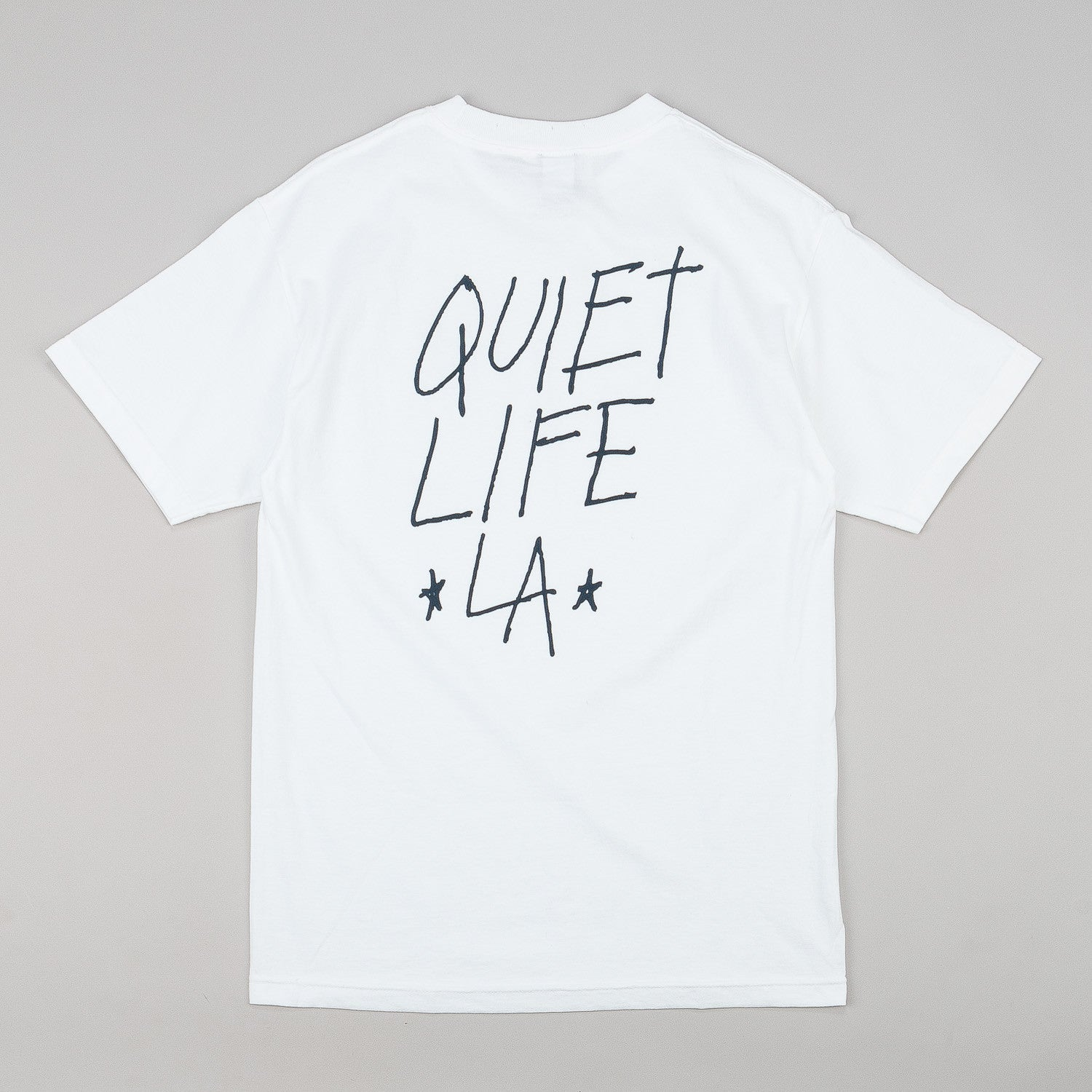 The Quiet Life QLA T-Shirt - White