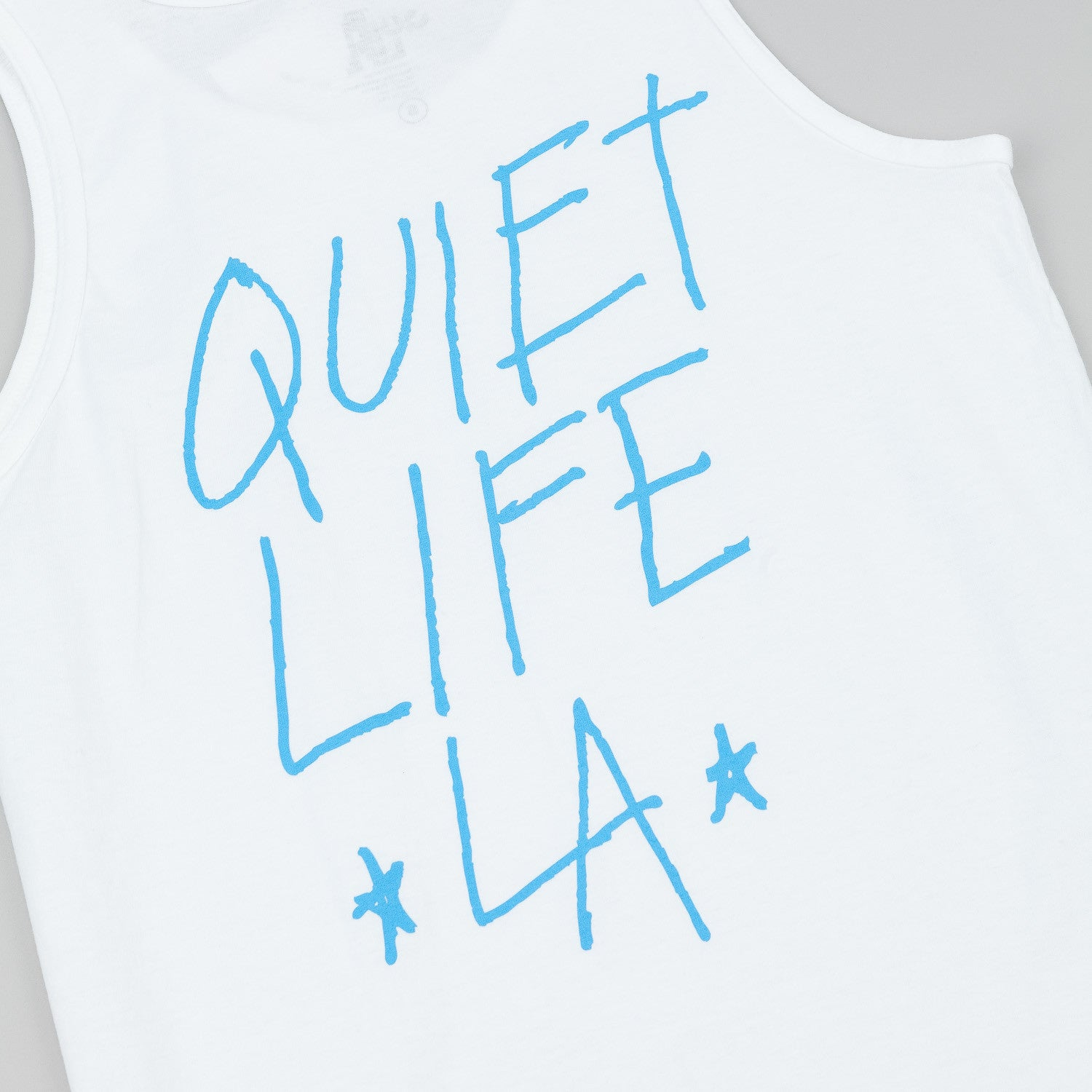 The Quiet Life QLA Tank - White