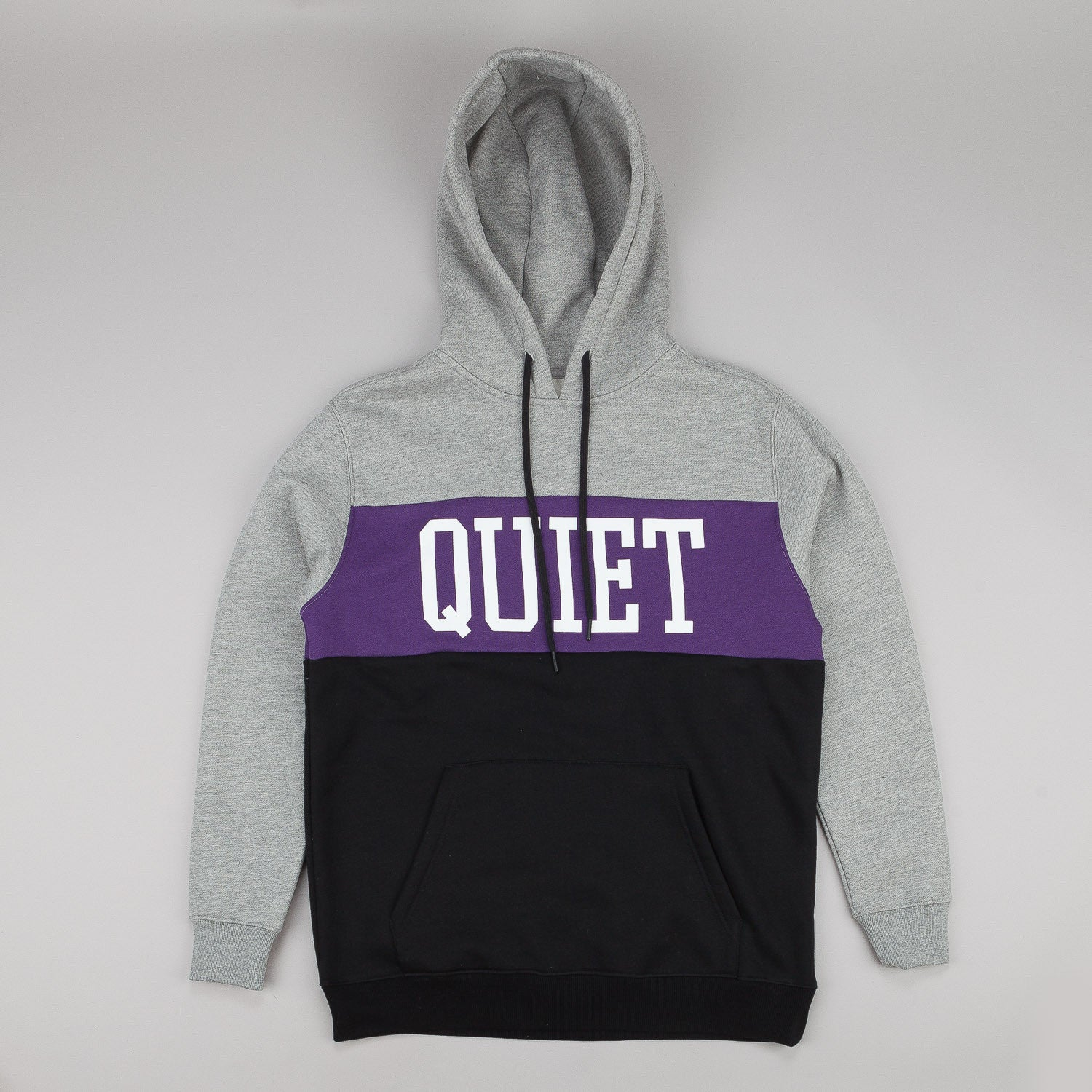 The Quiet Life Quiet Hooded Sweatshirt - Heather / Purple
