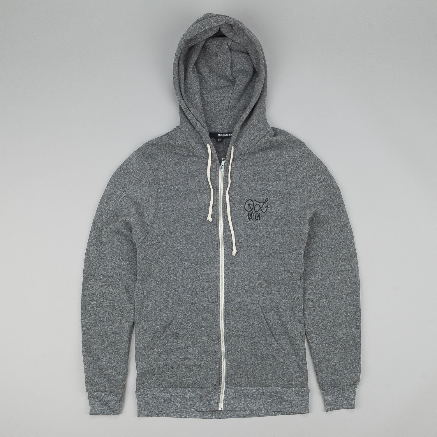 The Quiet Life Quiet Hudson Zip Up Hooded Sweatshirt