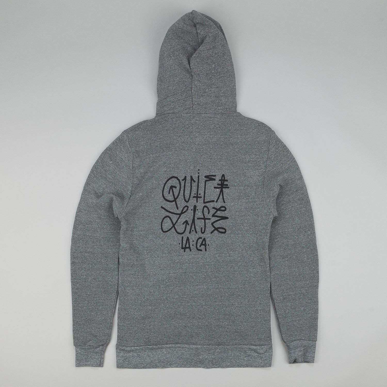 The Quiet Life Quiet Hudson Zip Up Hooded Sweatshirt - Grey