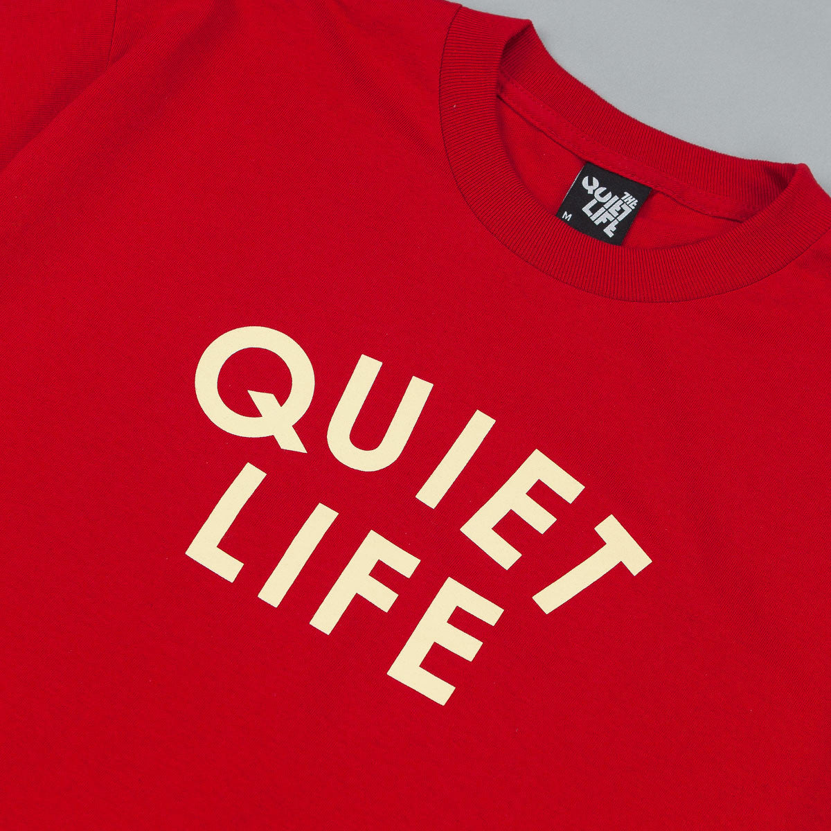 The Quiet Life Quiet Lifer T-Shirt - Red