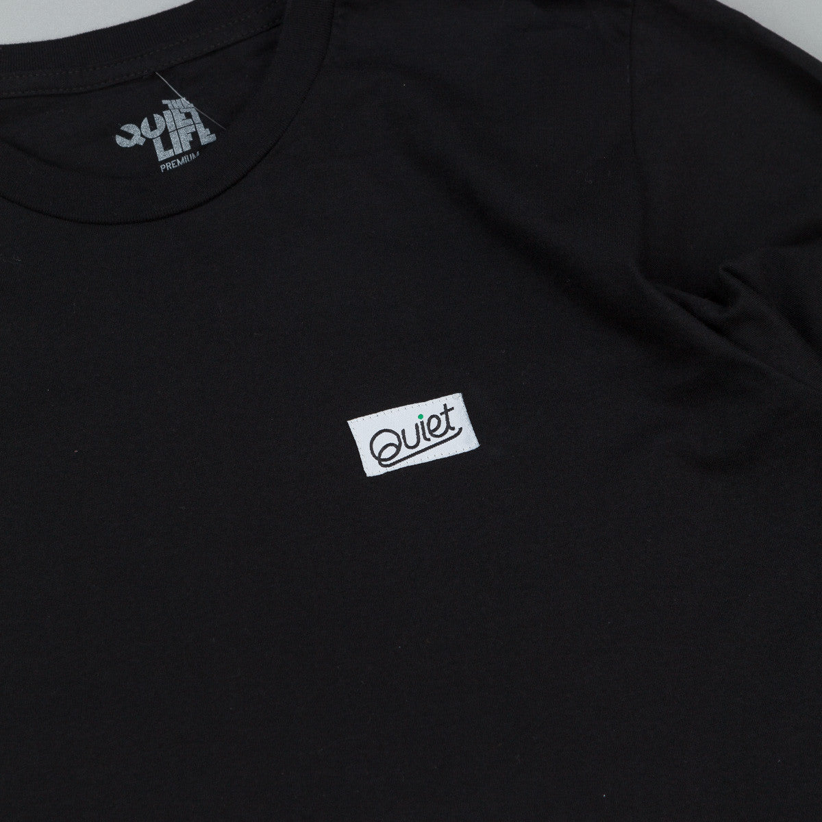 The Quiet Life Quiet Patch Long Sleeve T-Shirt - Black