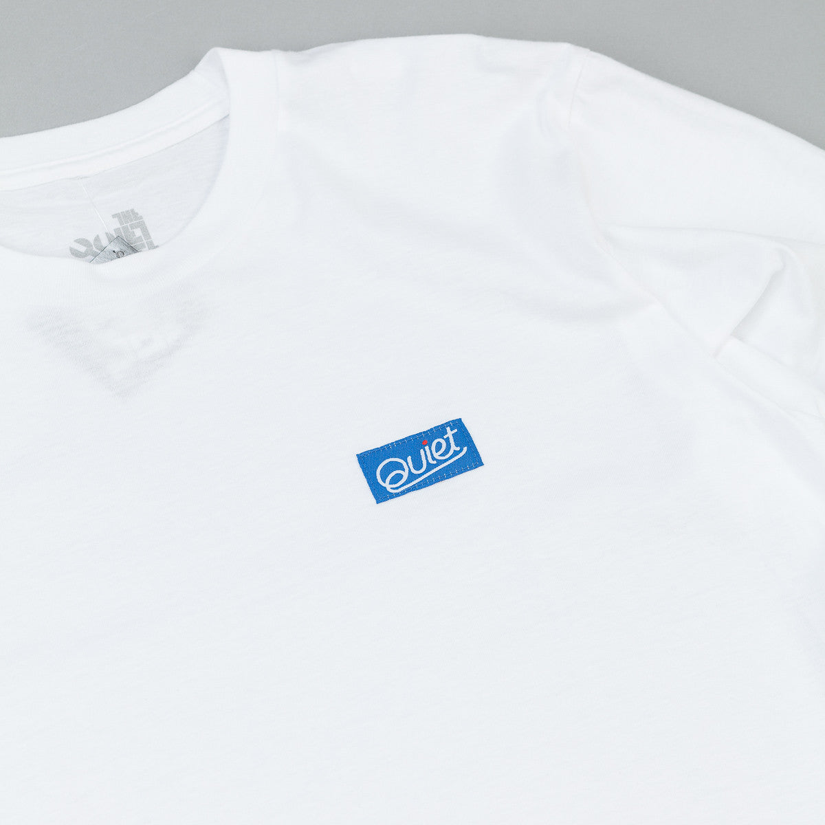 The Quiet Life Quiet Patch Long Sleeve T-Shirt - White