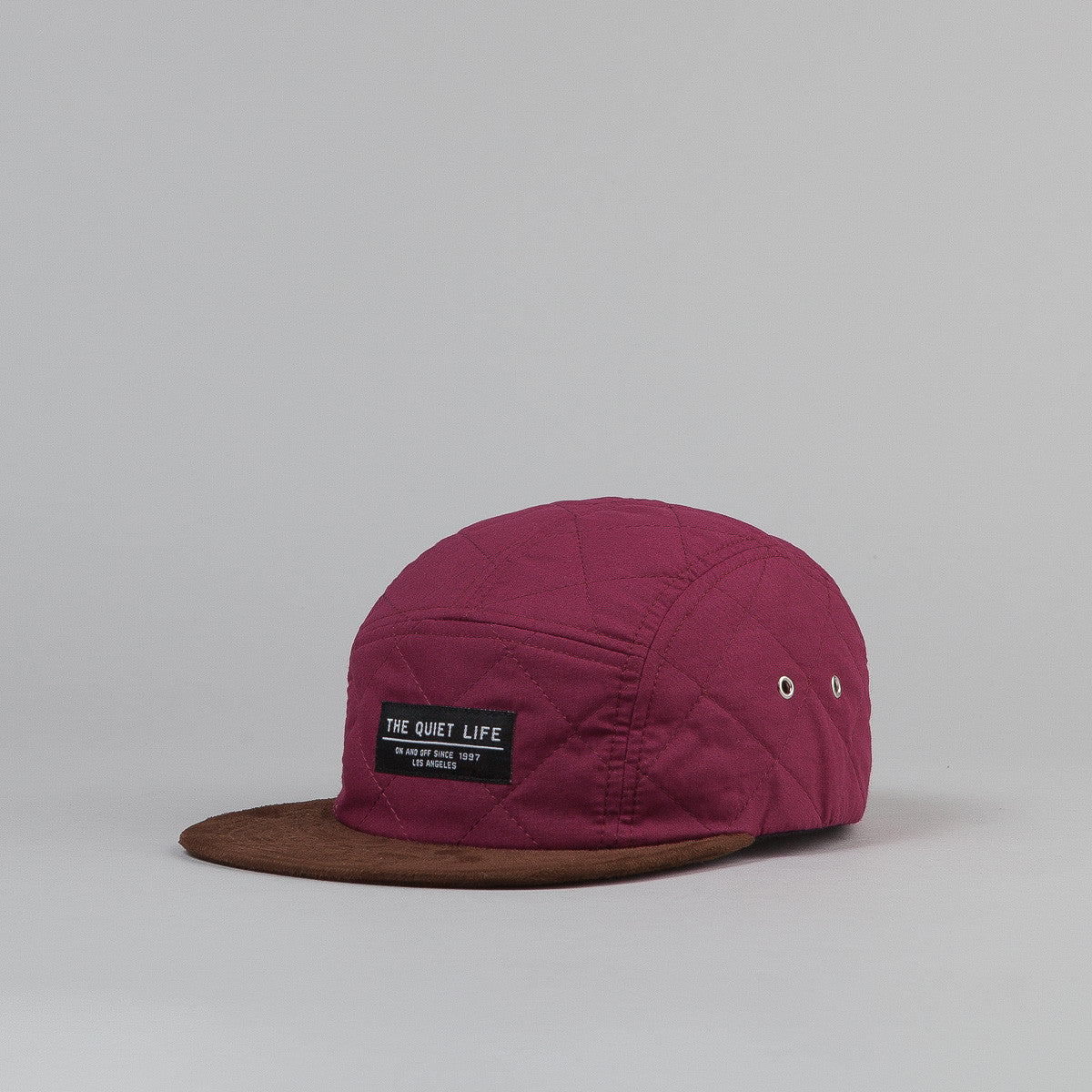 The Quiet Life Quilted 5 Panel Cap