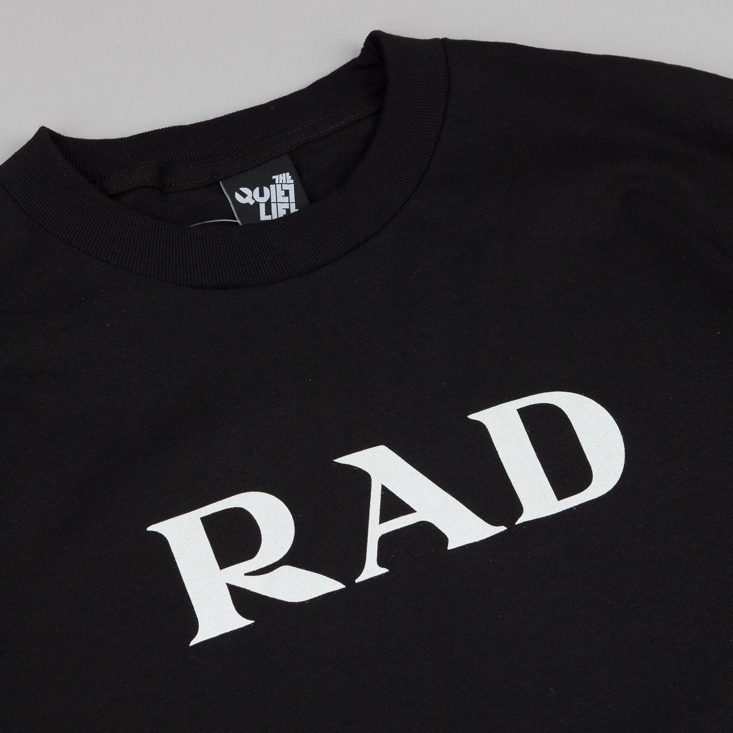 The Quiet Life Rad T-Shirt - Black