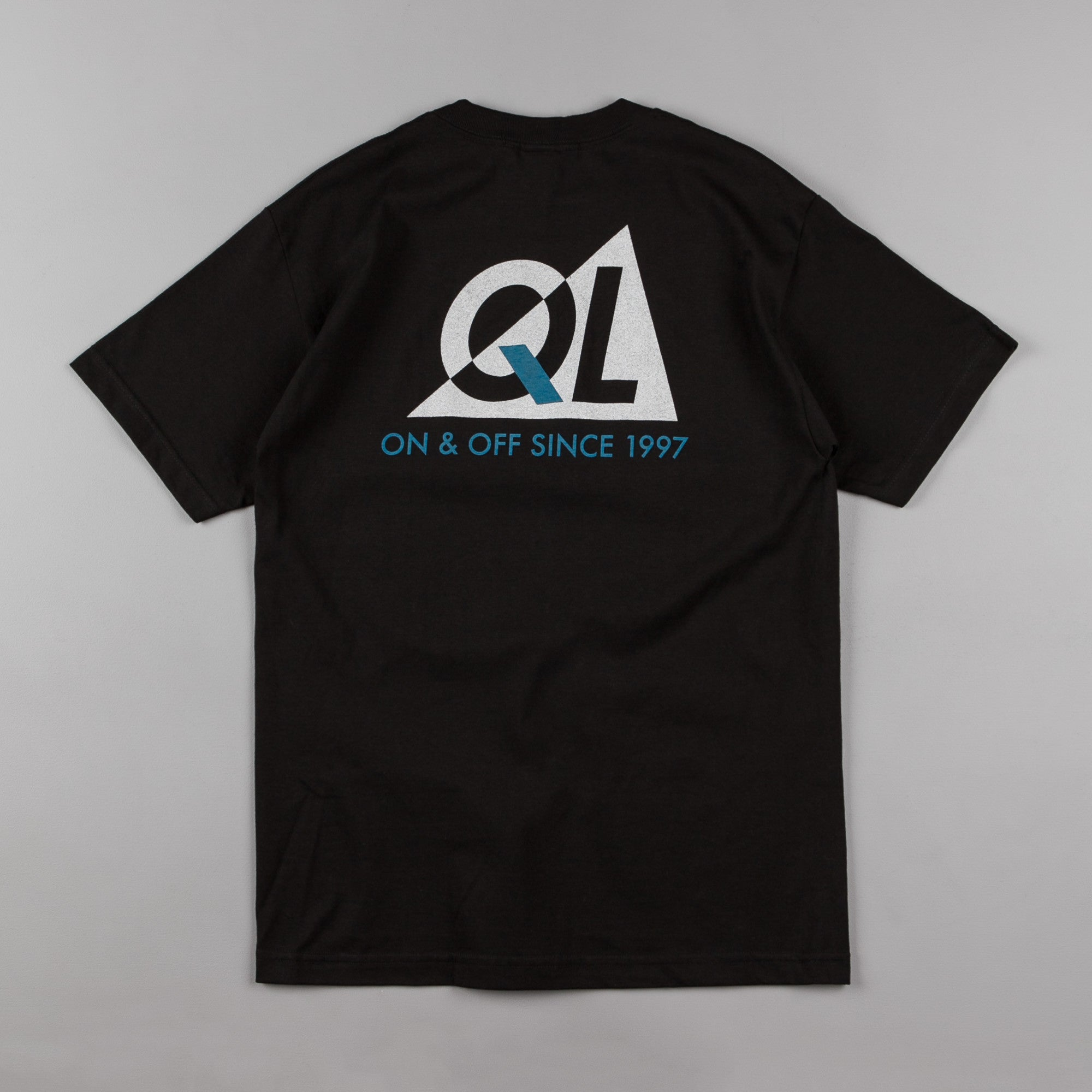 The Quiet Life Reflective T-Shirt - Black