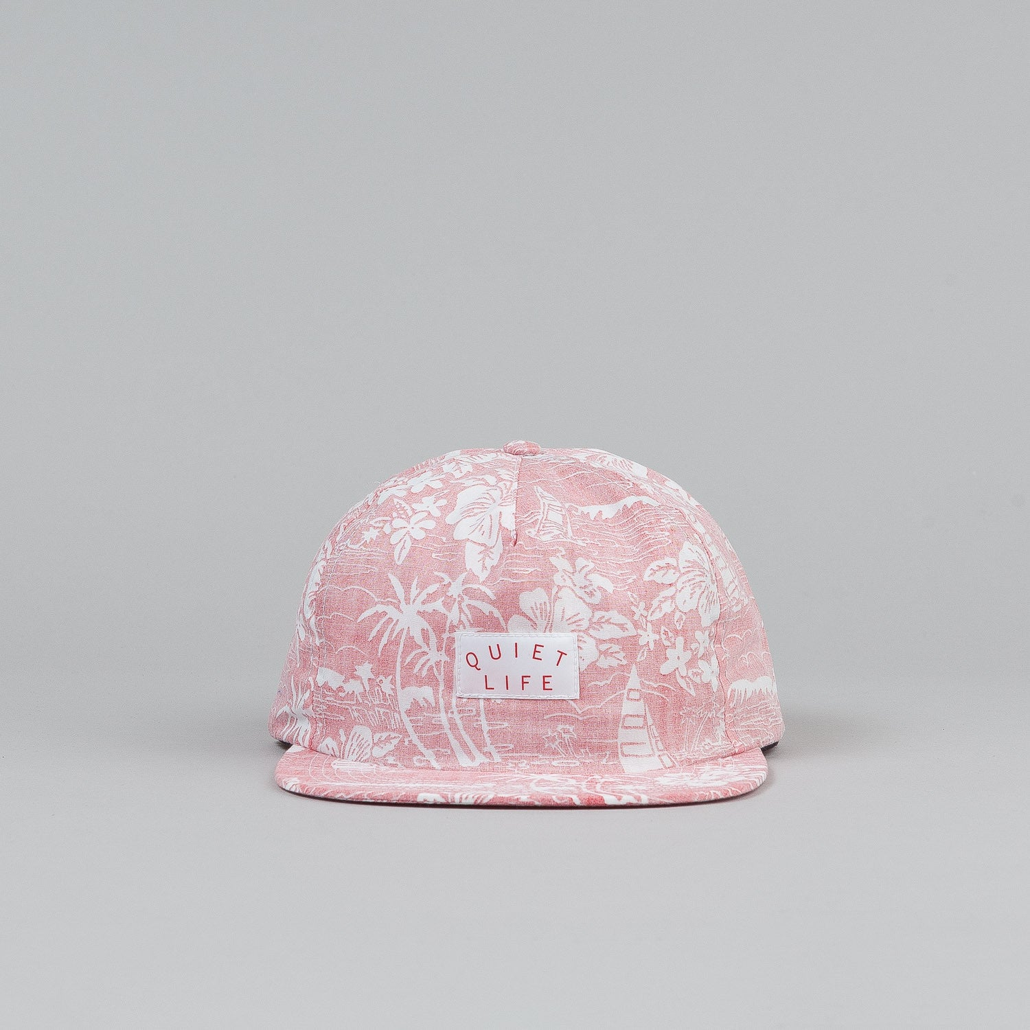The Quiet Life Reversed Hawaiian Relaxed Snapback Cap