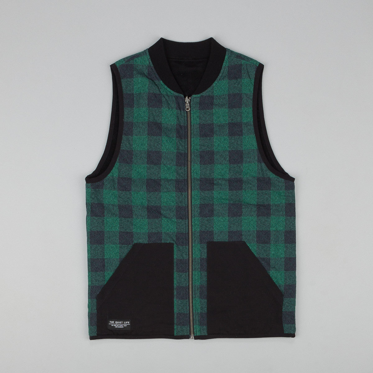 The Quiet Life Reversible Flannel Cord Vest
