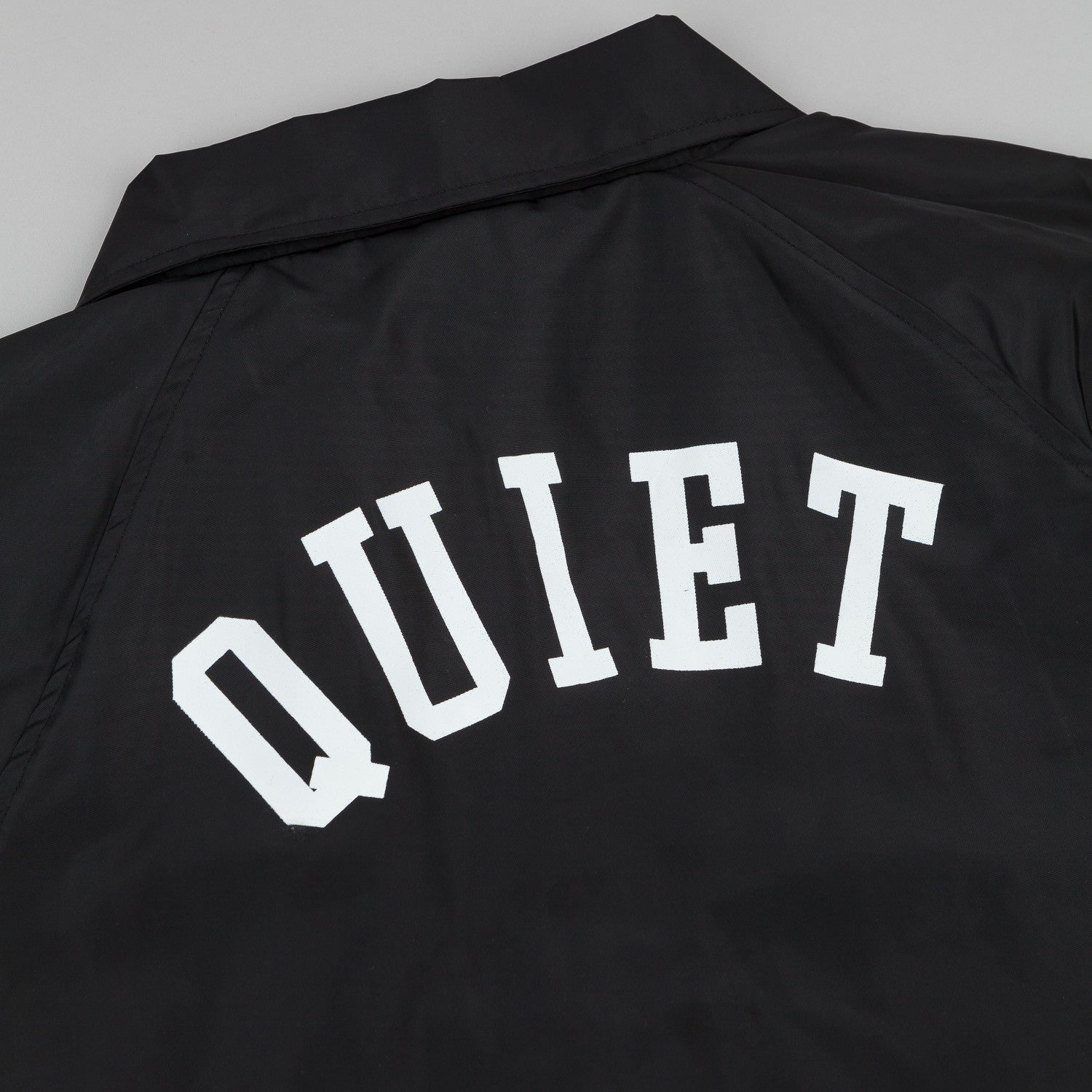 The Quiet Life Ribbed Garage Jacket - Black