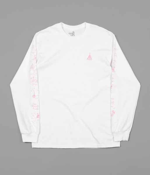 The Quiet Life Sail Long Sleeve T-Shirt - White