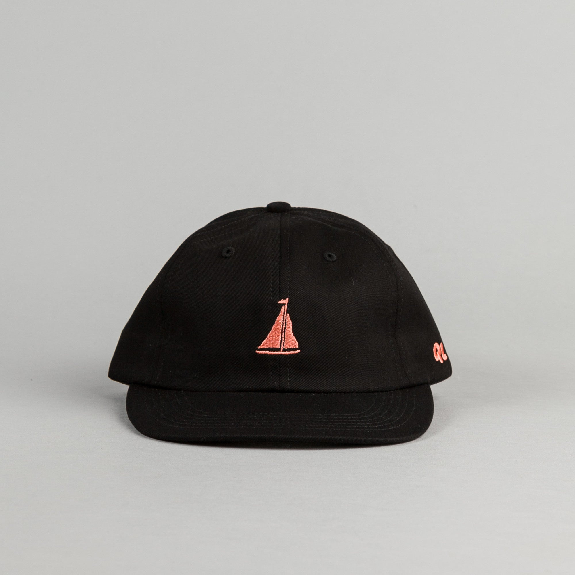 The Quiet Life Sail Polo Cap - Black