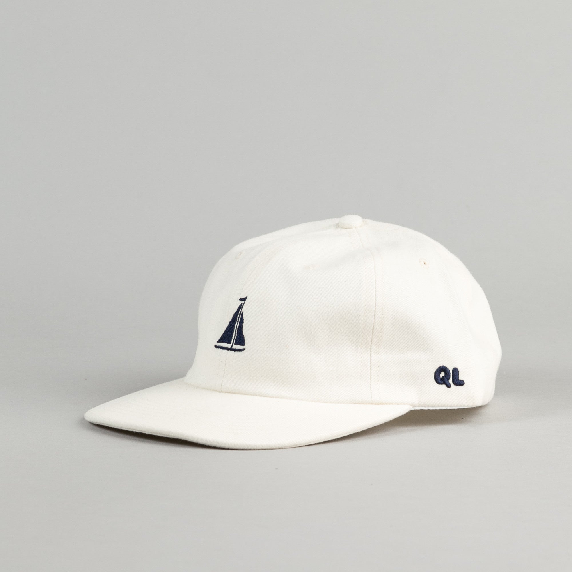 The Quiet Life Sail Polo Cap - Natural